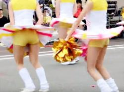 【チアガール盗撮動画】同志社大学チアダンスサークル『SWEETiEZ』を京都学生祭典でパンチラ隠し撮りwwの画像