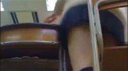 【学校パンチラ盗撮動画】高校教師の犯行…教え子のJKたちが隠し撮りの被害に遭ってしまう!の画像