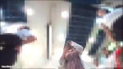 【逆さ撮り盗撮動画】ふんわりワンピース着たムッチリ巨乳女子大生のTバックをローアングルから接写撮影!の画像
