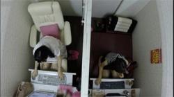 【ネカフェオナニー盗撮動画】モデル体型の一般女子がAV鑑賞しながら愛液垂らして絶頂してる!の画像
