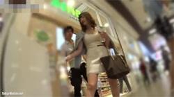【ギャル逆さ撮り盗撮動画】画質が良すぎる…可愛いギャルの脚と下着が鮮明盗撮!の画像