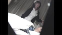 【病院セックス盗撮動画】患者の肉棒を嬉しそうに舐めまわすドスケベナースが乱れる姿を隠し撮り!の画像