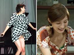 広末涼子のパンチラ胸チラとドラマのセクシーお宝エロ画像の画像