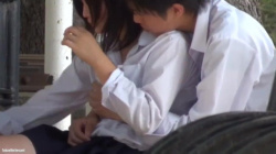 【カップル盗撮】超仲良し!!高校生カップルのイチャイチャ盗撮の画像