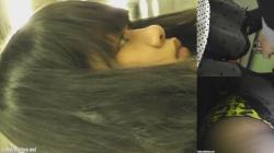 【パンチラ盗撮】本屋さんでの犯罪行為ターゲットにされた私服素人JKのキュロット内盗撮の画像