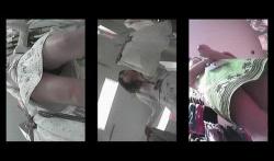 【パンチラ盗撮】ビンテージ感すらあるパンチラ盗撮でも店員さんシリーズだよ?の画像