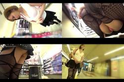 【パンチラ高画質盗撮】アジアンな素人嬢が超エッチなガードル履いてるんだけどパンチラ見る?の画像