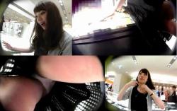 【パンチラ高画質盗撮】逆さHEROモノです店員さんの超臭そうなパンティが大興奮な動画の画像
