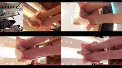【パンチラ盗撮】某ショップのお客さんとその店員さん達によるパンチラバーゲンセール開催の画像