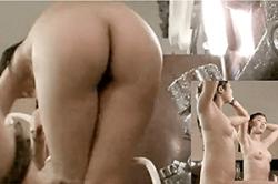 高画質 盗撮【スーパー銭湯・風呂場】「女盗撮師」でなければ撮れない! ~「JC」女子の「オッパイ」と後ろからの「ワレメ」映像~!!の画像