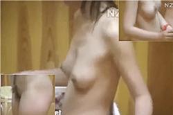 無修正 盗撮【脱衣所】~「旅館」の「女風呂」~「若い娘」の「オッパイ」と「おマ●コ」をターゲット撮影~!!の画像