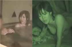 《薄消し修正》盗撮 【離れがある旅館】~「風呂場」で「混浴」を隠し撮り~本日、二発目の「ファックシーン」を「暗視カメラ」撮影~!!の画像