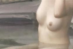 《薄消し修正》盗撮【露天風呂】~「ティーン女子」をターゲット~大小の「オッパイ」&「おマ●コ」をズーム撮影~!!の画像