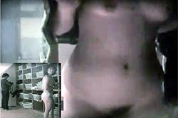 《薄消し》盗撮【脱衣所】~「温泉施設」で体重計の横に「カメラ」を設置~「おマ●コ」&「オッパイ」をドアップ撮影~!!の画像