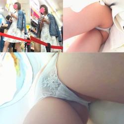 【私服JK】さかさんぽ No.025 驚異の3分連続フロント撮り!透明なのは容姿だけじゃなくパンツも!?【顔出し】の画像
