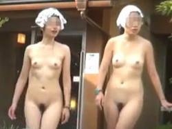 【盗撮】洗い場全裸!脱衣所全裸!露天風呂全裸!これ一本でヌキどころ満載な女湯フルコース♪の画像