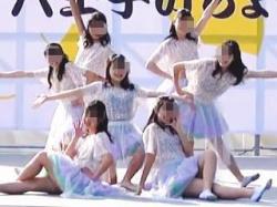【盗撮動画】ラッキーハプニング!JKダンス部の女の子が晴れのステージで透け乳首を大公開♪の画像