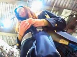 【盗撮動画】スーパールーキーとして風俗店に就職して欲しいエロス満載のパンチラ女子校生♪の画像