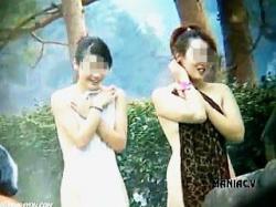 【盗撮動画】大自然と覗きマニアのカメラに囲まれた温泉露天風呂でのんびり入浴中の淑女たち♪の画像