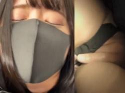 【盗撮動画】痴漢に囲まれてアソコとお乳を弄りまくられて不覚にも感じまくってるハーフ系美女♪の画像