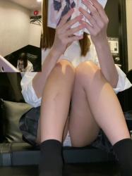 漫画喫茶やネカフェで盗撮した女子高生のエロシーン特集の画像