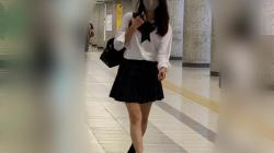 女子高生のパンツを5日に渡り盗撮!JK追跡5日その2の画像