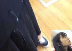 《動画》優等生タイプのS級美少女JKにザーメンぶっかけるパンチラ撮り師の衝動的痴漢行為がやばすぎるの画像